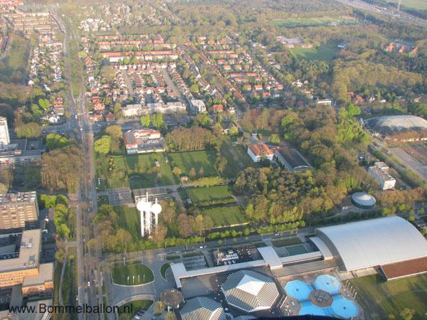 Ballonvaart van Eindhoven naar Bergeijk