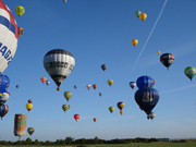 Ballonvaart boven Helmond Brandevoort